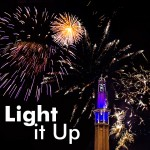 Light It up clipart package with fireworks