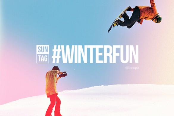 Embrace Winter with the Sunday Hashtag #winterfun