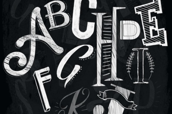 Download our Blackboard Alphabet Clipart Package