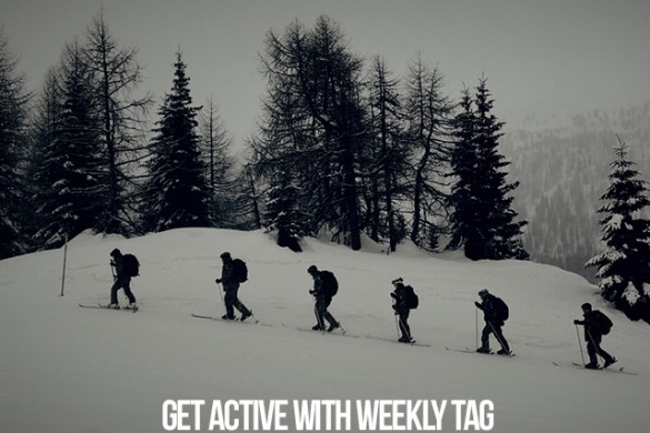 Get Active with the Weekly Tag #wintersports