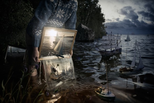 Erik Johansson Builds Models to Create Art, the Results are Mind-Boggle