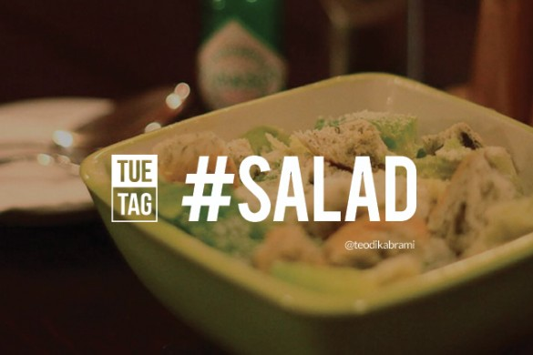 Go Green with the TUEtag #salad