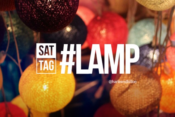 Brighten the Mood with the Saturday Hashtag #lamp