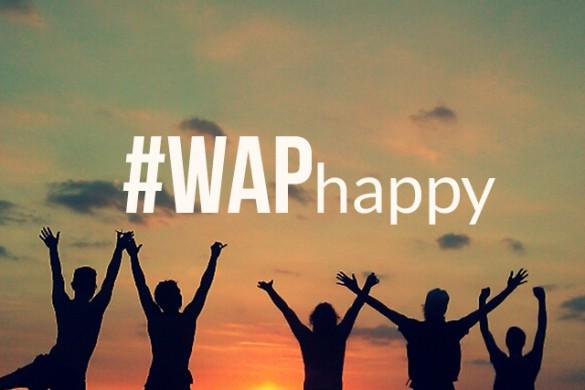 Spread Joy with the #WAPhappy Weekend Art Project