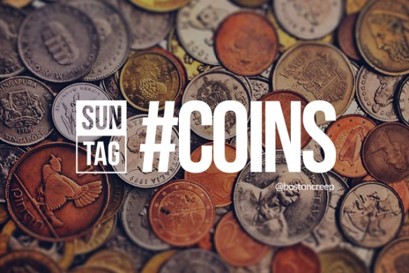 Flash Your Cash with the Sunday Hashtag #coins