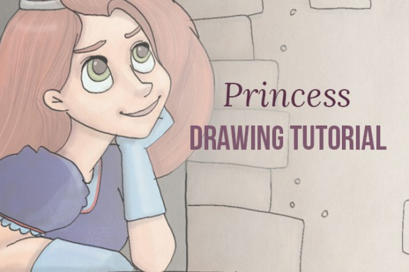 How to Draw a Princess with PicsArt