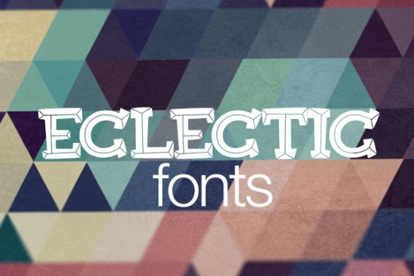 New Eclectic Fonts available for Download!