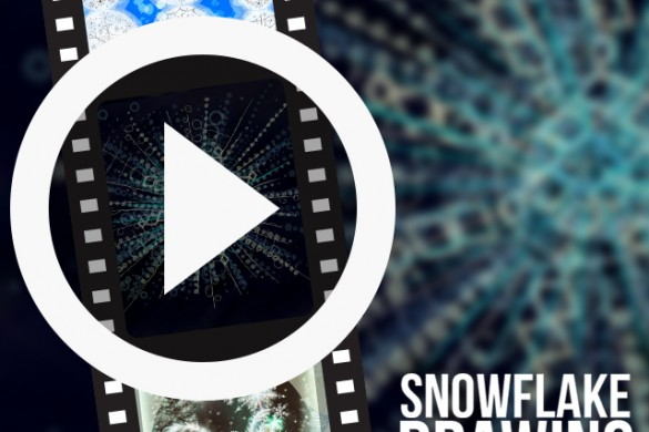 PicsArtists Share Time-Lapse Videos of Snowflake Drawings