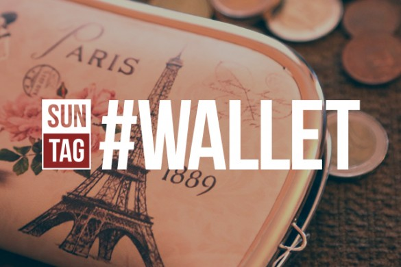 Show Us What's in Your Pocket with the Sunday Hashtag #wallet