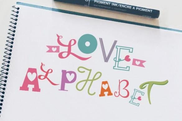 Love Alphabet Package Arrives in the PicsArt Shop