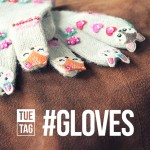 photo of gloves with animals