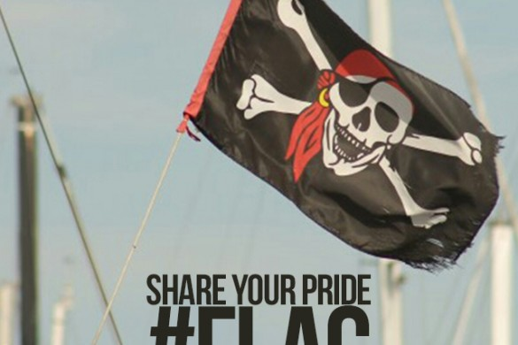 Share Your Pride with the Weekly Tag #flag
