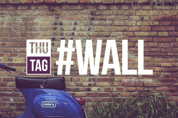 Share Your Wonderful Walls with the Thursday Hashtag #wall
