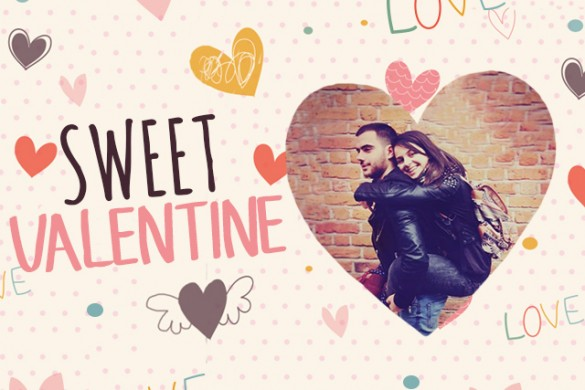 Give Your Photos a Romantic Touch with the Sweet Valentine Package
