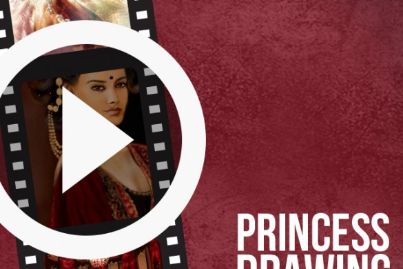 Users Share Time-lapse Videos of their Princess Drawings