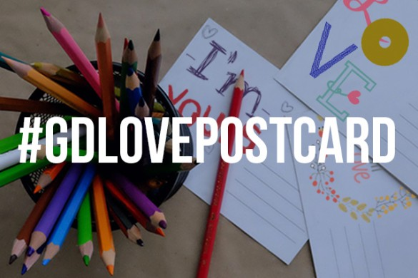 Design a Love Postcard for this week's Graphic Design Contest