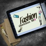 Free Fashion Sketches M4 on Samsung tab
