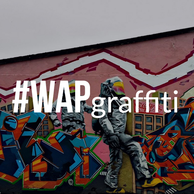 Graffiti photo for weekend art project