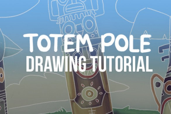 How to Draw a Totem Pole with PicsArt