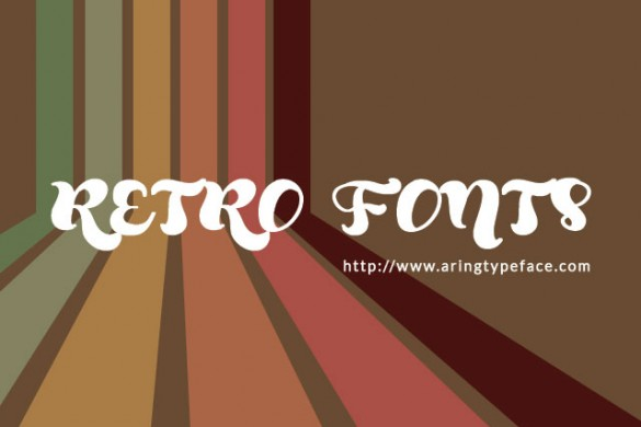 Retro Fonts Package Available in the PicsArt Shop