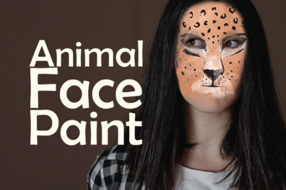 Reveal Your Wild Side with the Animal Face Paint Package