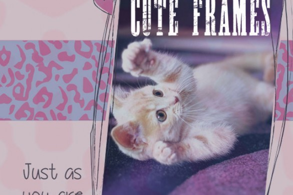 Cute Frames Package Available in the PicsArt Shop