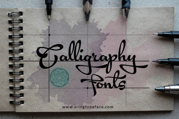 Calligraphy Fonts Package Available in the PicsArt Shop