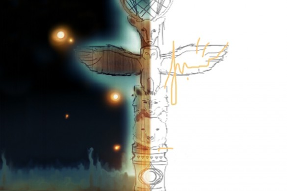 Users Share Totem Pole Drawing Tutorials