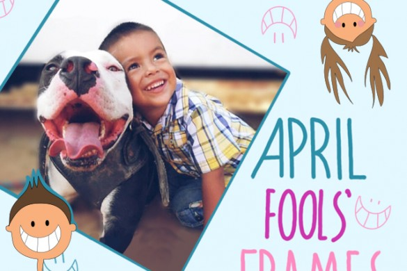 Get Silly with the April Fools' Frames Package