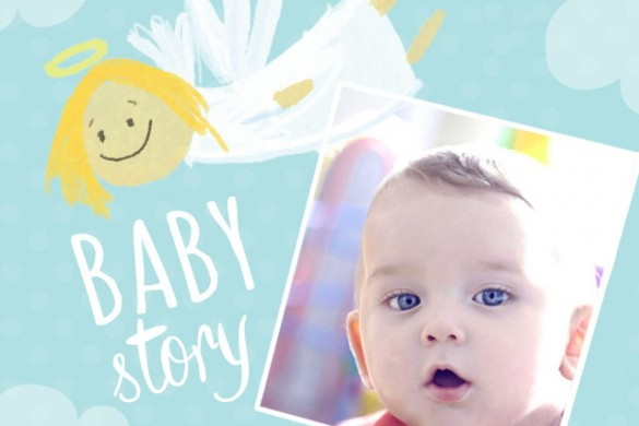 Create Memories with the Baby Story Frame Package