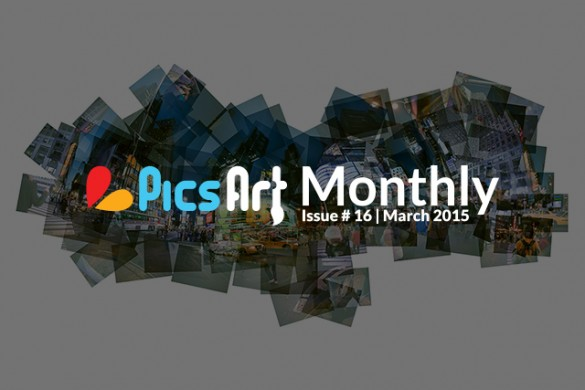 Download the March Issue of the PicsArt Monthly, Get Inspired for Spring