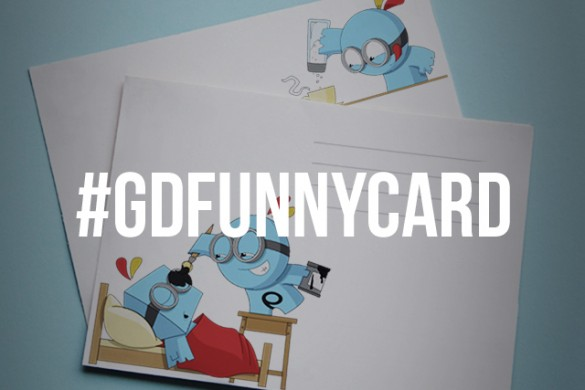 Design a Funny Card for This Week's Graphic Design Contest