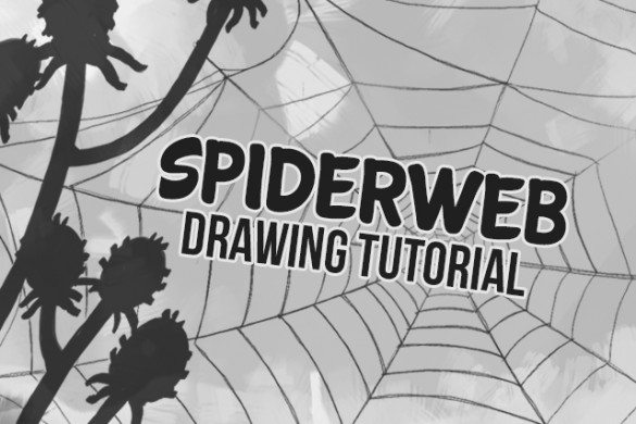 How to Draw a Spiderweb with PicsArt