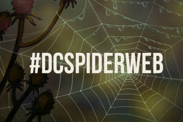 Weave Your Own Spiderweb for our Drawing Challenge!
