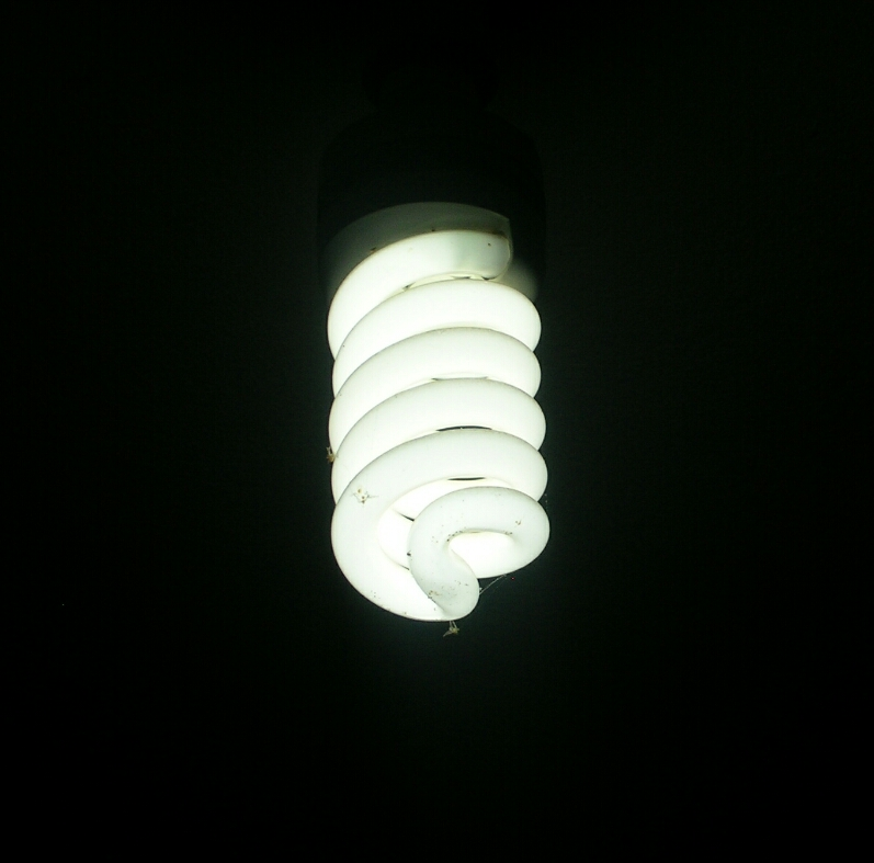 White light bulb photo for Save Electricity for Earth Hour