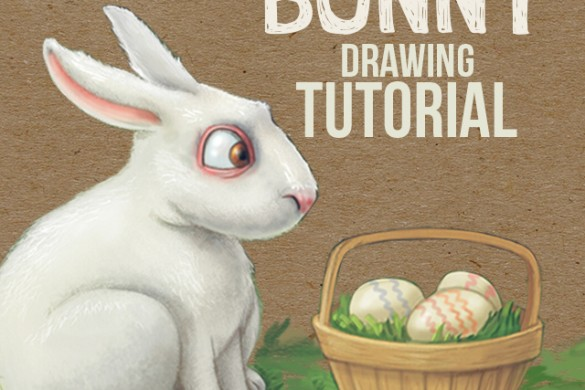 Step-by-Step Tutorial on How to Draw a Bunny Using PicsArt