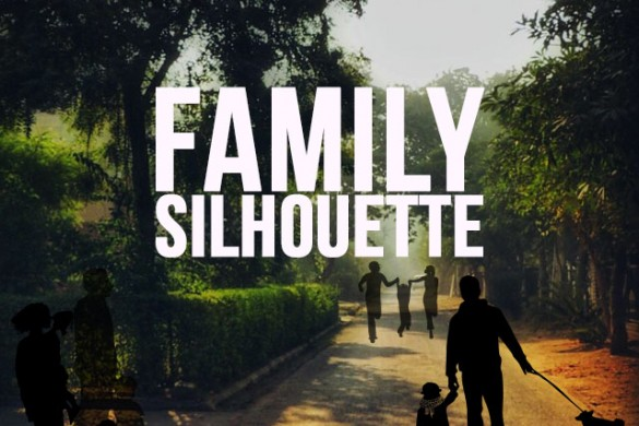 Family Silhouette Package Available in the PicsArt Shop