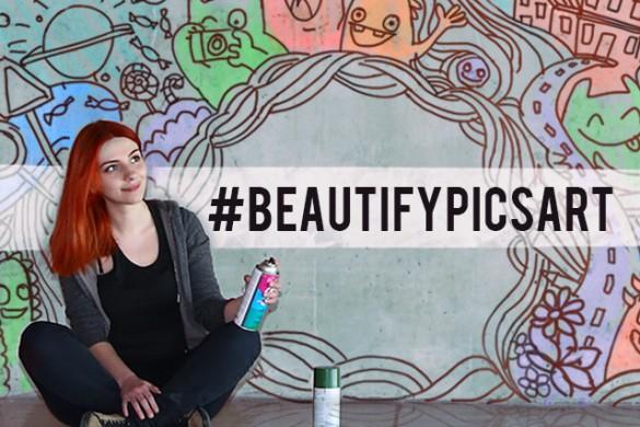 Decorate PicsArt's Walls with #BeautifyPicsArt