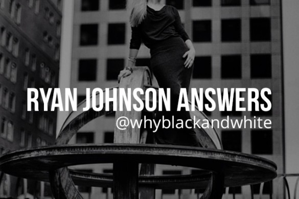 Meet Black and White Portrait Photographer Ryan Johnson, This Week's Professional Guest Art Curator