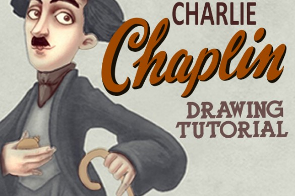 How to Draw the Great Charlie Chaplin with PicsArt