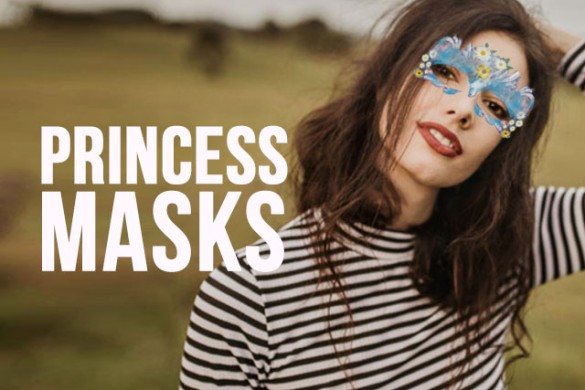 Reveal Your Royal Side with the Princess Masks Package