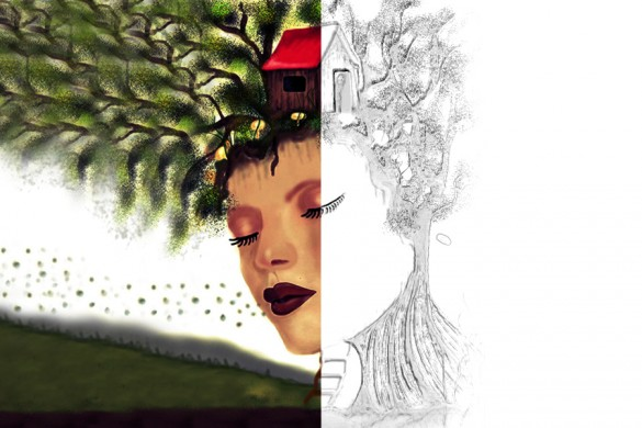 PicsArt Users Share Drawing Tutorials of Treehouses