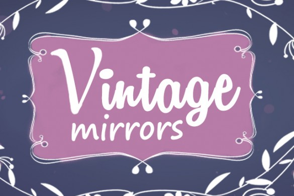Download the New Vintage Mirrors Package from the PicsArt Shop