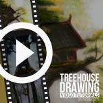 Time-lapse Videos of Treehouse Drawings