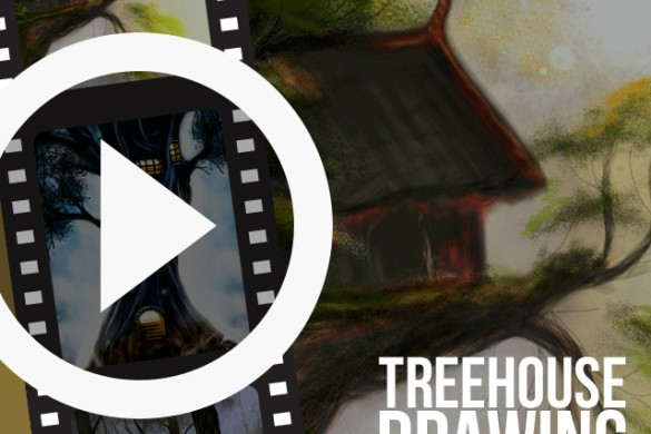 PicsArtists Share Time-lapse Videos of Treehouse Drawings
