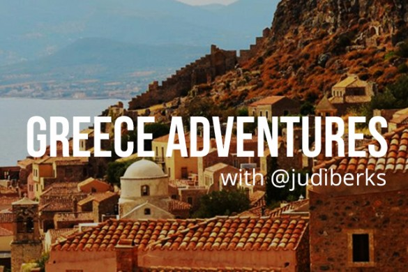 Greece Photo Adventure with @judiberks