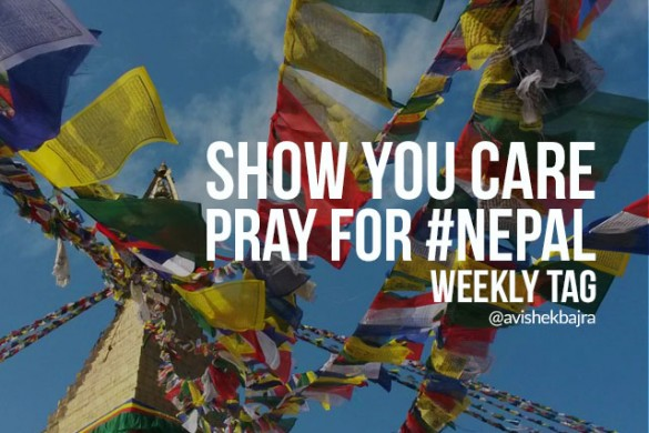 Show You Care with the Weekly Tag #Nepal