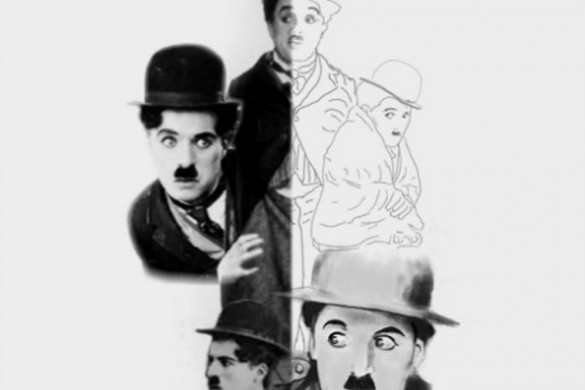 PicsArtists Share Charlie Chaplin Drawing Tutorials