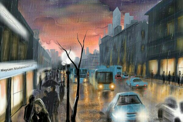 Top 10 Rainy Day Scenes from the Drawing Challenge