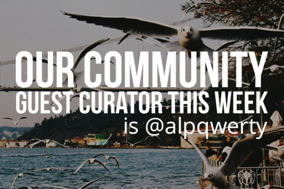 With 1,000,000 Followers, Alp Peker Is This Week's Guest Community Art Curator